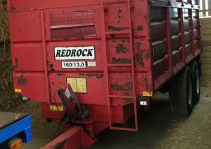 Redrock 160/13.0 Silage Trailer